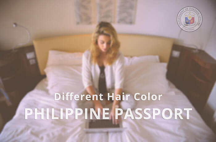 Different Hair Color In Your Dfa Philippine Passport